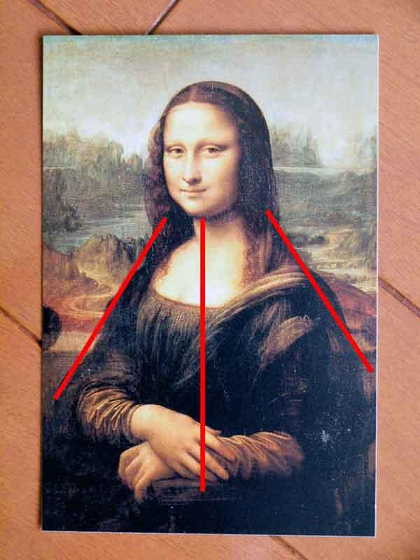 ディスプレイ、なぜ三角形がよい?